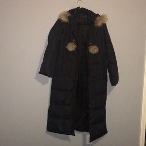 COPY - Small Via Spiga women's Down coat w/fur on…